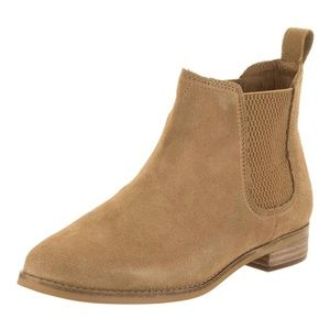 {Toms} Suede Ankle Booties
